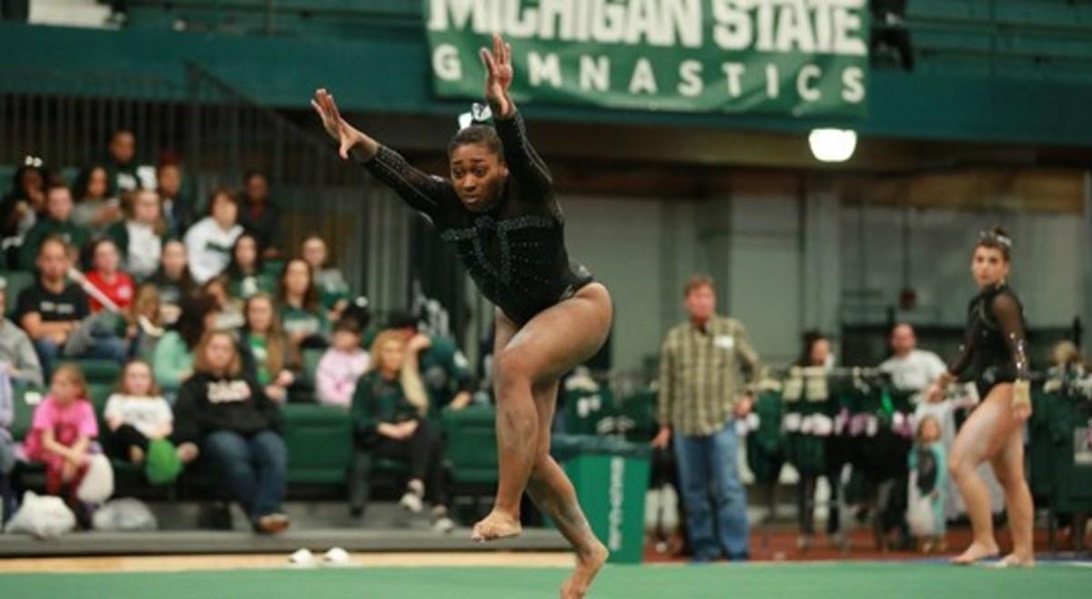 Michigan State Gymnastics (PHOTO:  MSU SID)