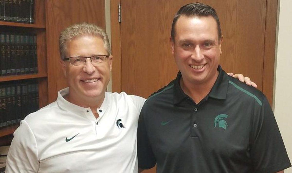 Danton Cole & Jeff Michalowski (PHOTO:  Duffy Carpenter)