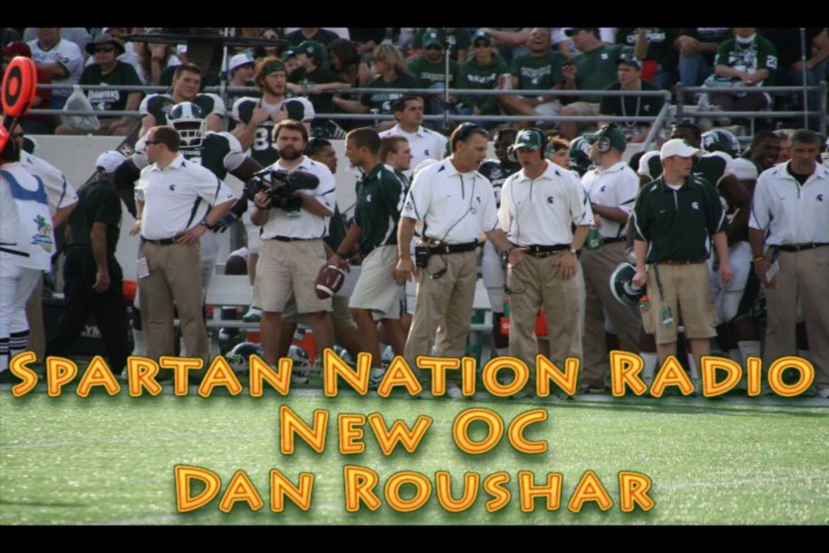 Dan Roushar will do a great job as the OC for the Spartans in 2011.