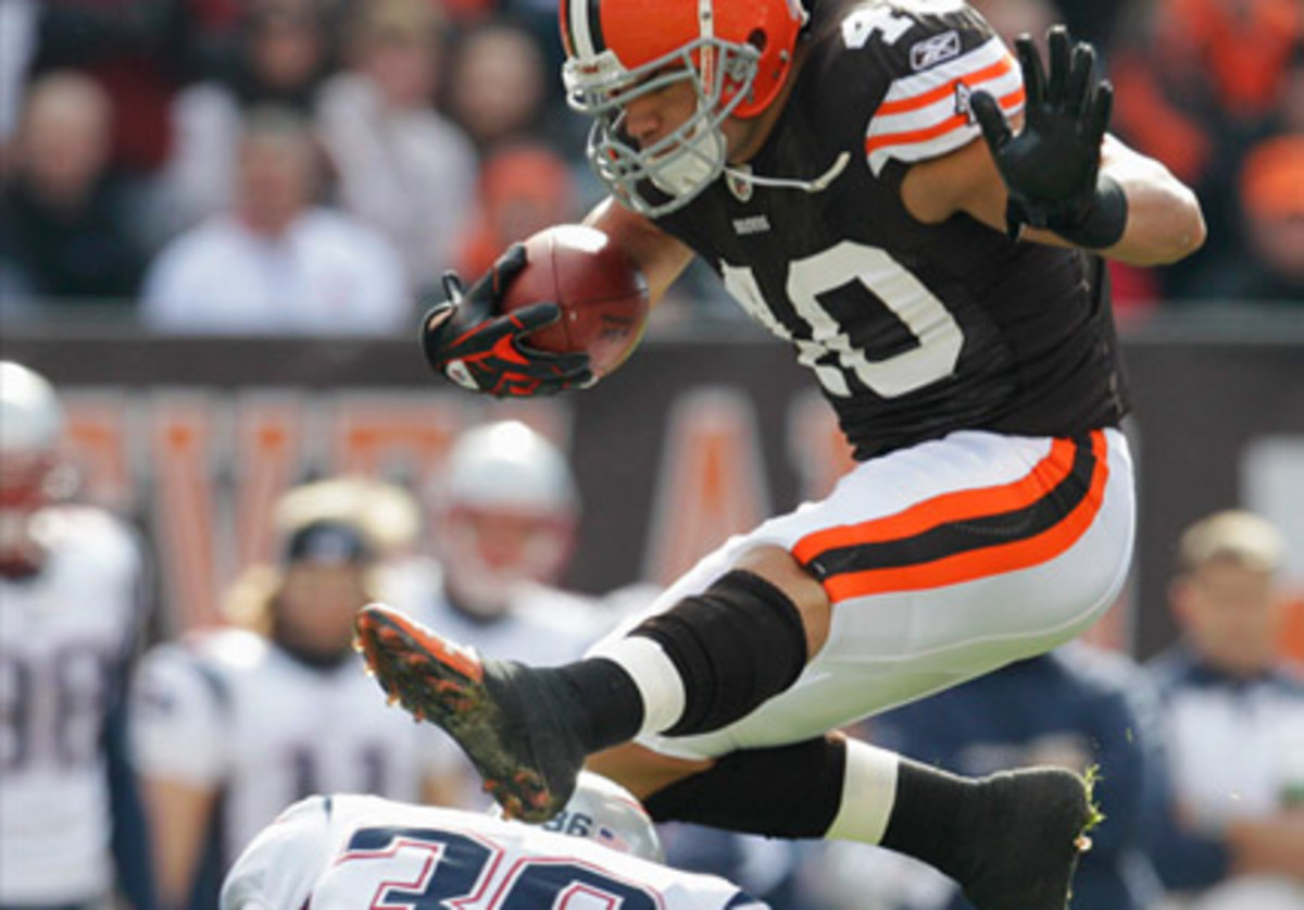 Peyton Hillis is a tough runner and is going to be huge this week.