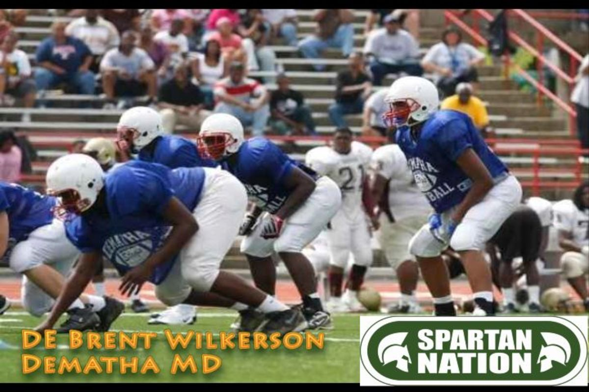DeMatha High School in Maryland is one of the most storied football programs in the nation and Mark Dantonio would like to get one of their stars for the second year in a row with the 2012 class.