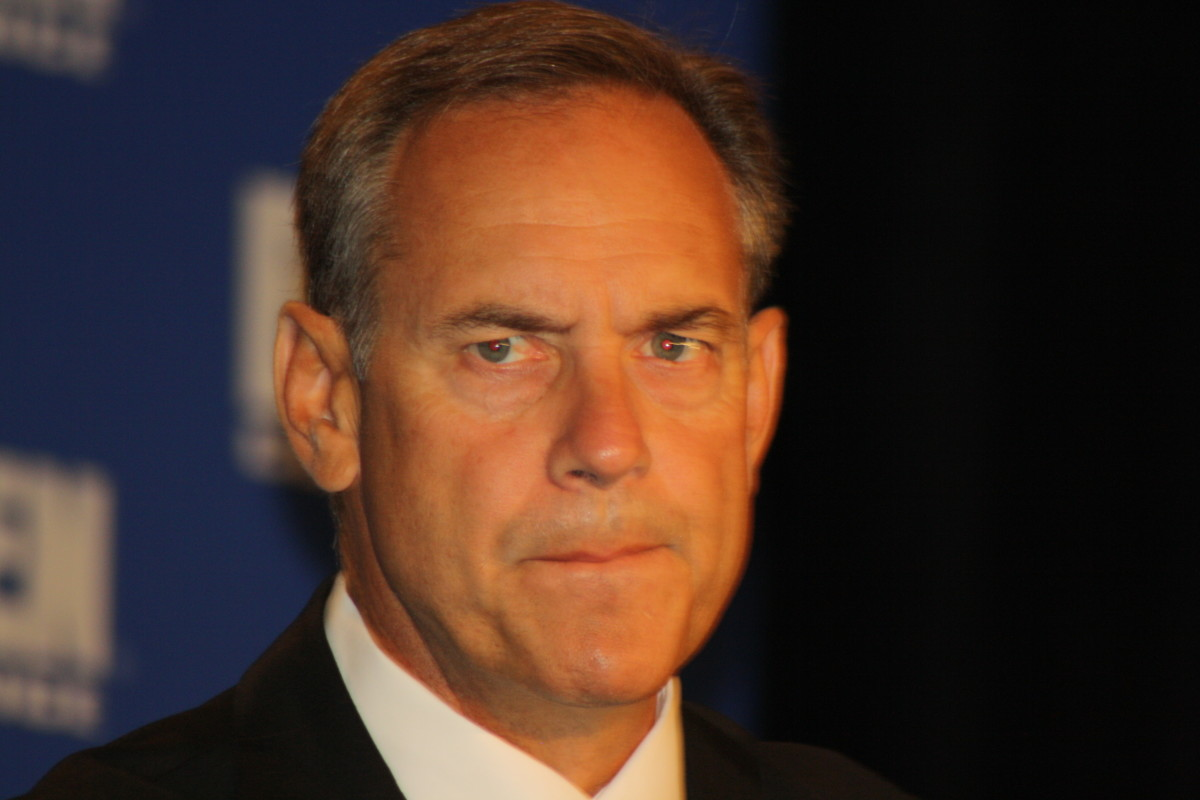 Mark Dantonio looks to 2010 with high expectations for the Spartan Nation.  Photo courtesy of Troy Benoit.