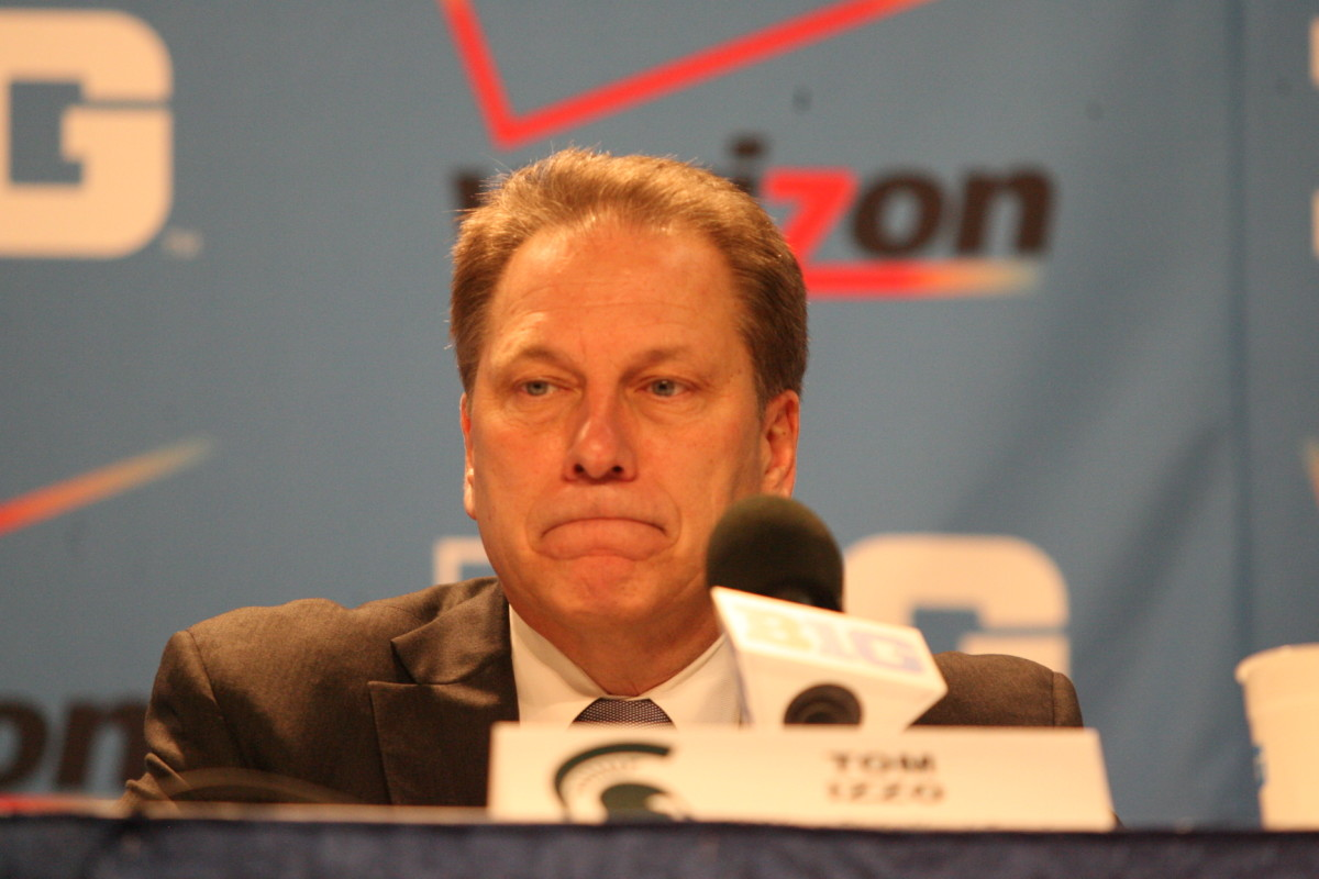 Tom Izzo is Mr. March.  Do the Spartans have a run in them?  Photo courtesy of the author.