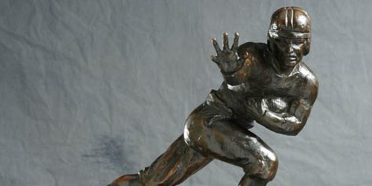 Who will win the most coveted award in college football?  Spartan Nation makes their pick.