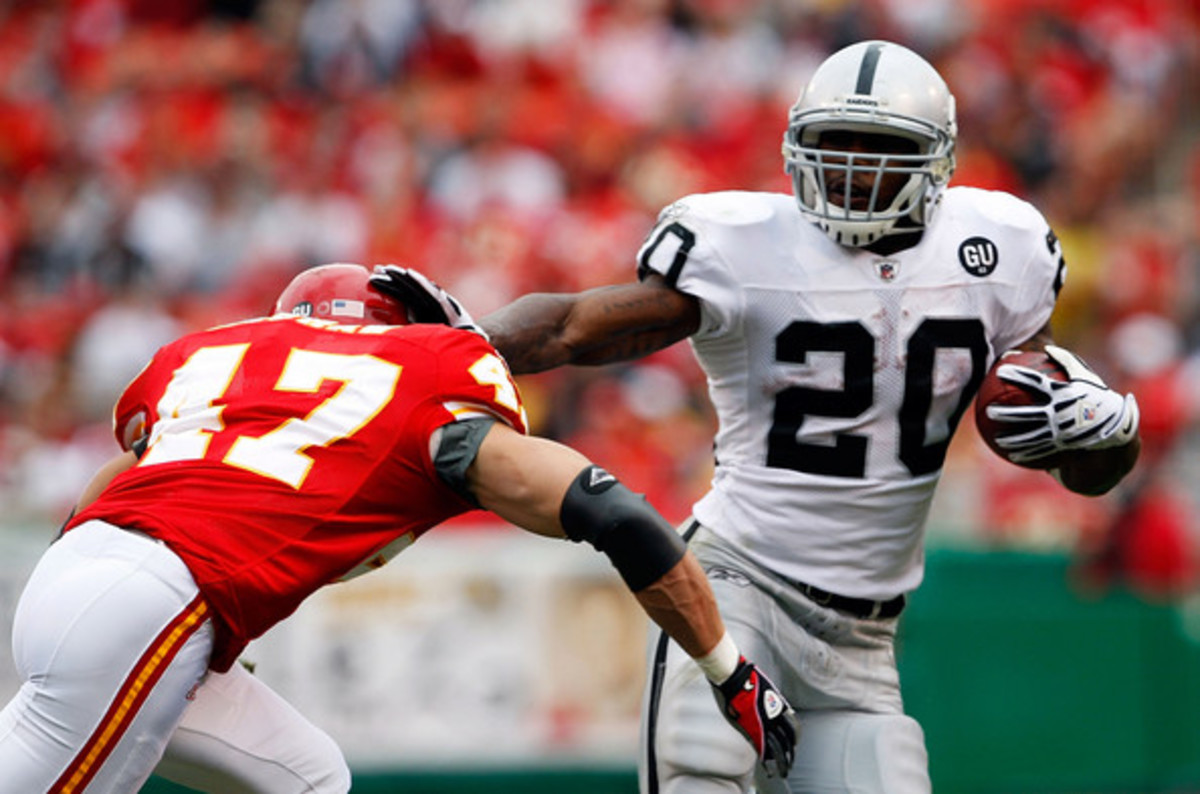Darrenn McFadden finally looks like the star NFL back everyone thought he would be out of Arkansas, but can he continue to play like a star?
