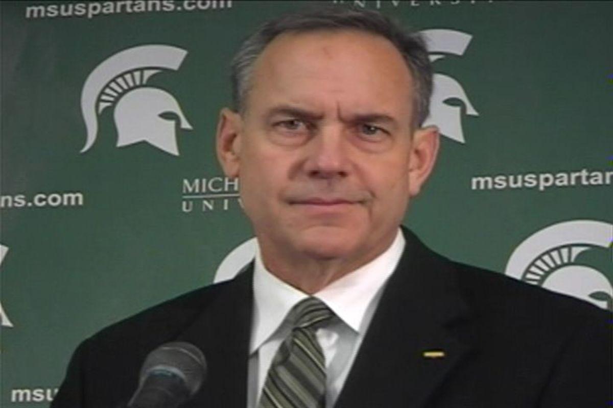 Mark Dantonio has done a good job leading the Spartans through some tough times.