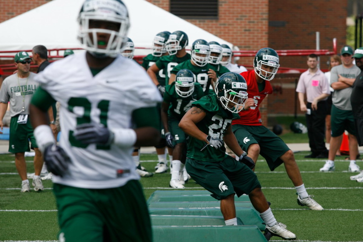 The Spartans are off and running and have a big 2010 on their mind.  Photo courtesy of Starr Portice.