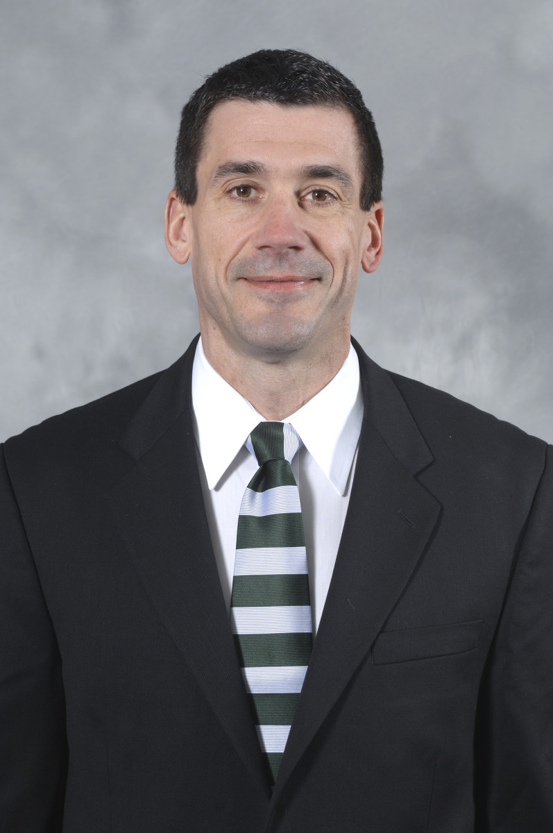 Dave Warner brings a wealth of experience to his role as the MSU QB coach.  Photo courtesy of the MSU SID.