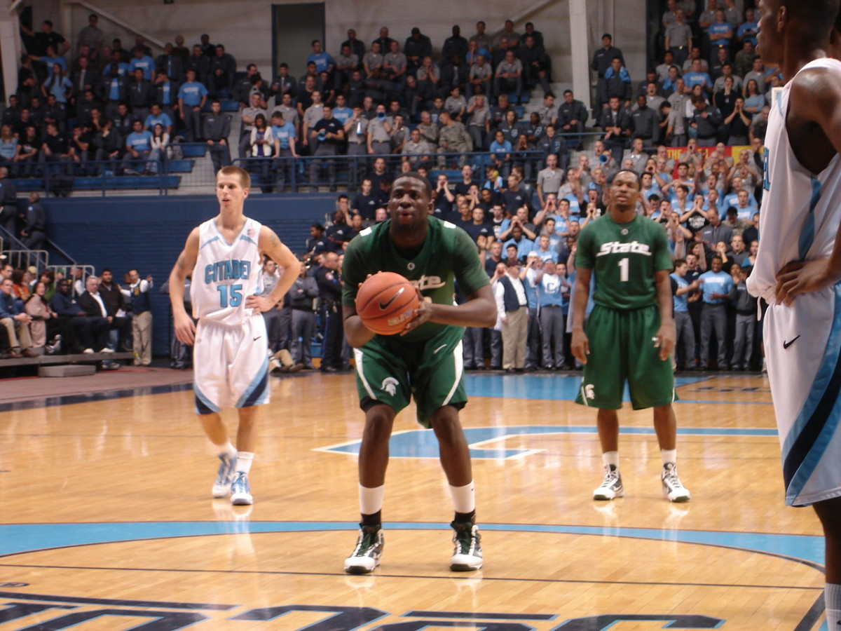 It was a small arena with a big atmosphere in South Carolina.  Photo Courtesy of Jon Schopp.