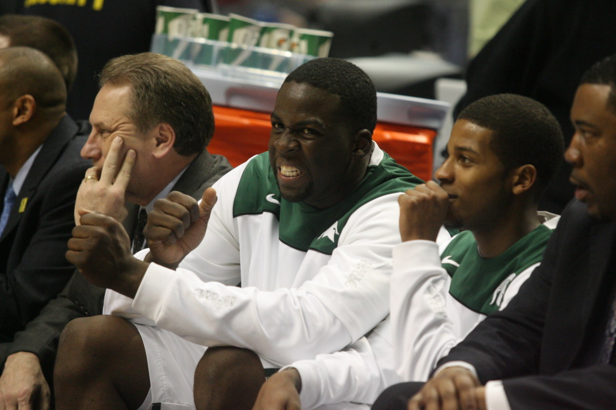 Draymond Green is poised for his biggest season yet as a Spartan.  Photo courtesy of Bill Marklevits.
