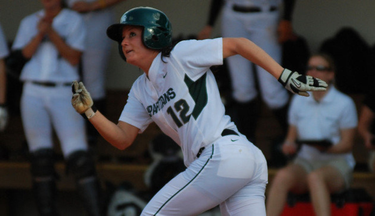 Spartan senior earns second weekly honor in her career.  Photo courtesy of MSU SID.