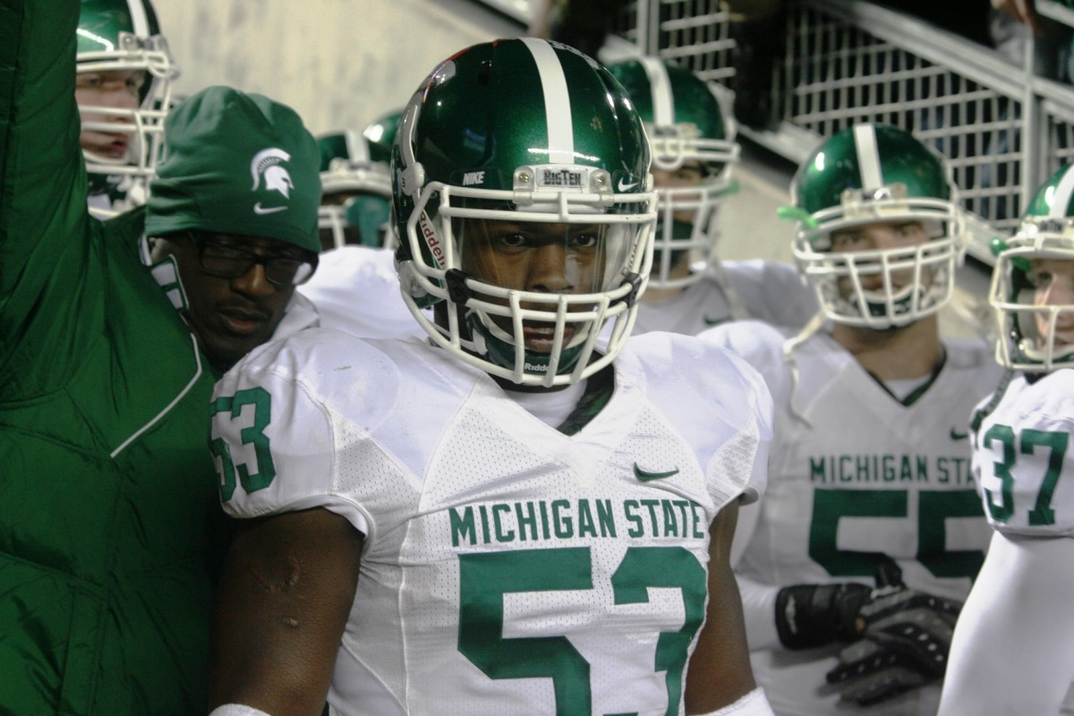 Greg Jones led the way in 2009 for the Spartan D.  Photo Courtesy of Bill Marklevits.