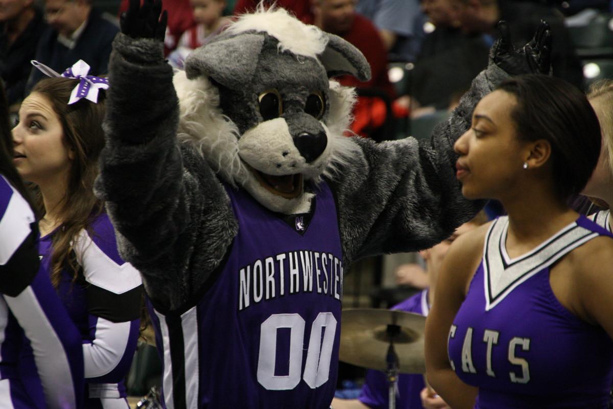 Northwestern won and is rewarded with a date against OSU on Friday.  Photo courtesy of Bill Marklevits.