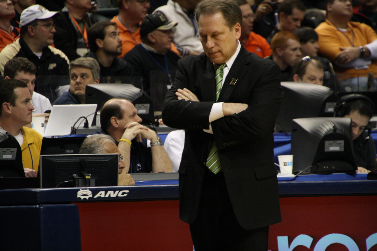 Does Tom Izzo and his Spartan team have another Big March Run in them?  At this point, only a fool would count them out.  Photo courtesy of Mark Boomgaard.