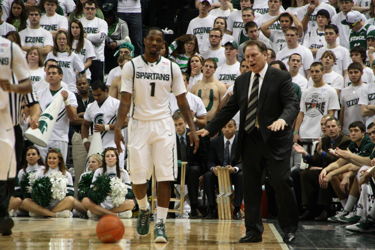 Izzo's frustration turned to elation after his team turned it on with 2:39 left.  Photo courtesy of Mark Boomgaard.