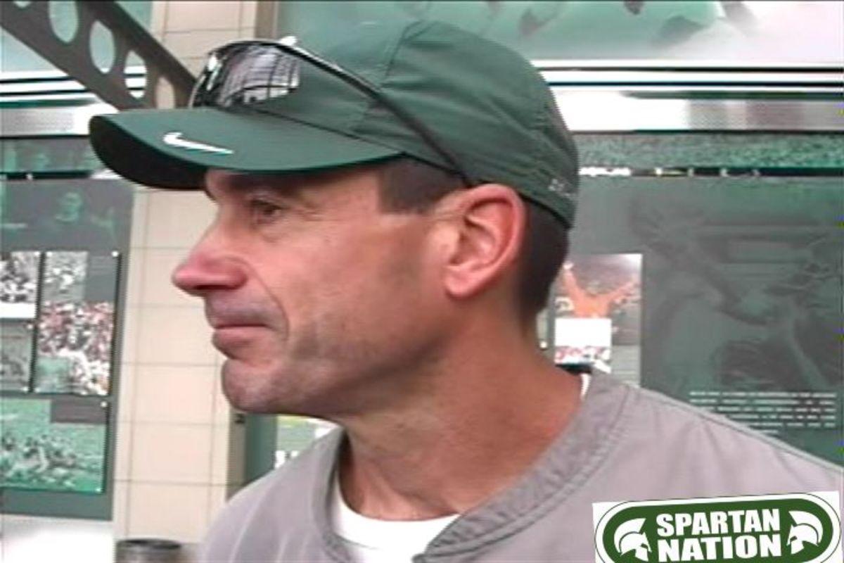 Coach Warner talks Football and Mark Dantonio.