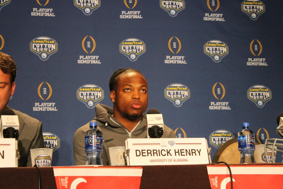 Derrick Henry Alabama RB
