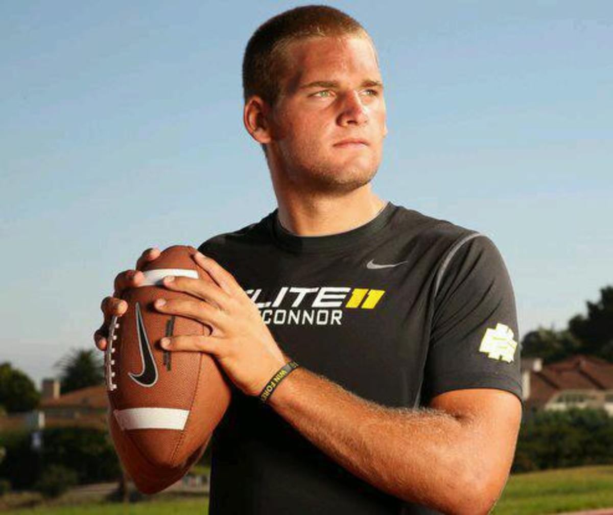 Just back from the Elite 11 Tyler O'Connor tells you about the event, how he got better and what he is doing to get more recruits to join him at MSU!  Photo courtesy of O'Connor.