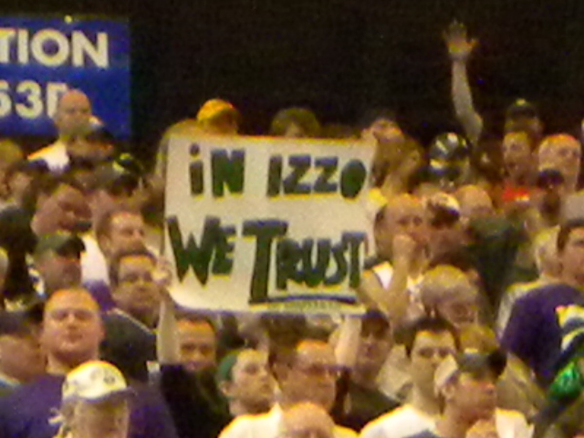 The Spartan Nation has known what the national media is just figuring out, that come March NO ONE is better than Izzo.  Photo courtesy of Kevin Krzeminski.