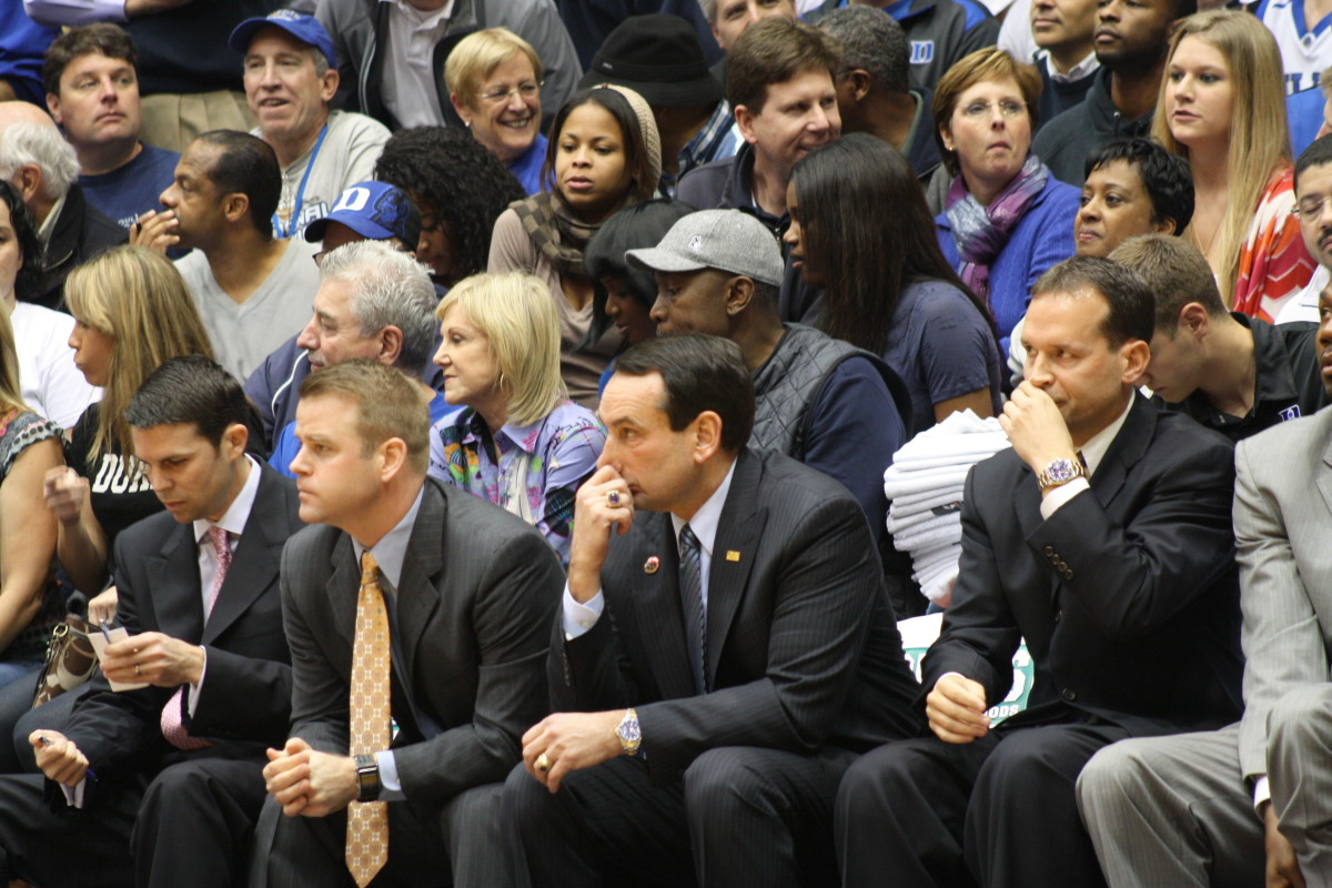 Tom Izzo will get another shot at his arch nemisis Coach K.  Photo courtesy of Jon Schopp.