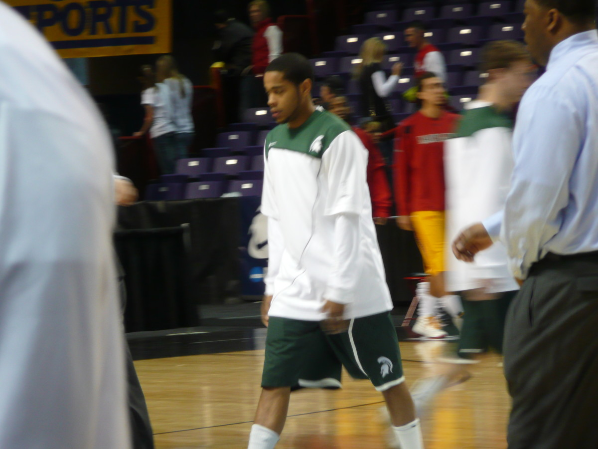 Here is Allen seconds ago warming up.  Photo courtesy of Greg Martin.