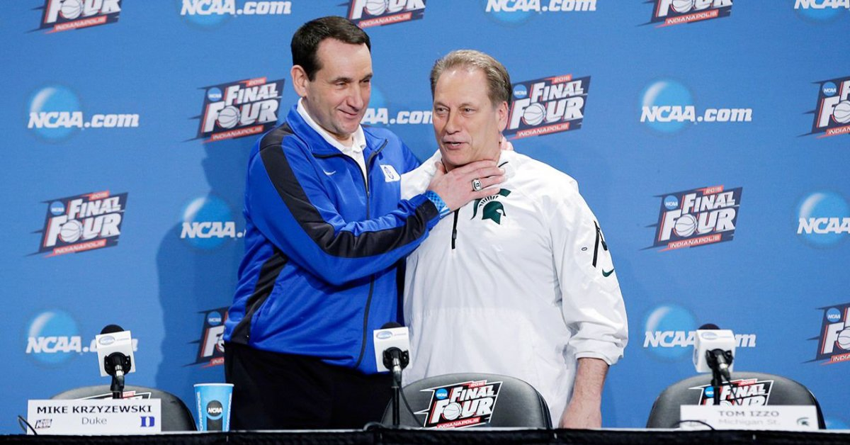 Tom Izzo and Coach K will be both participating in this latest college basketball event!