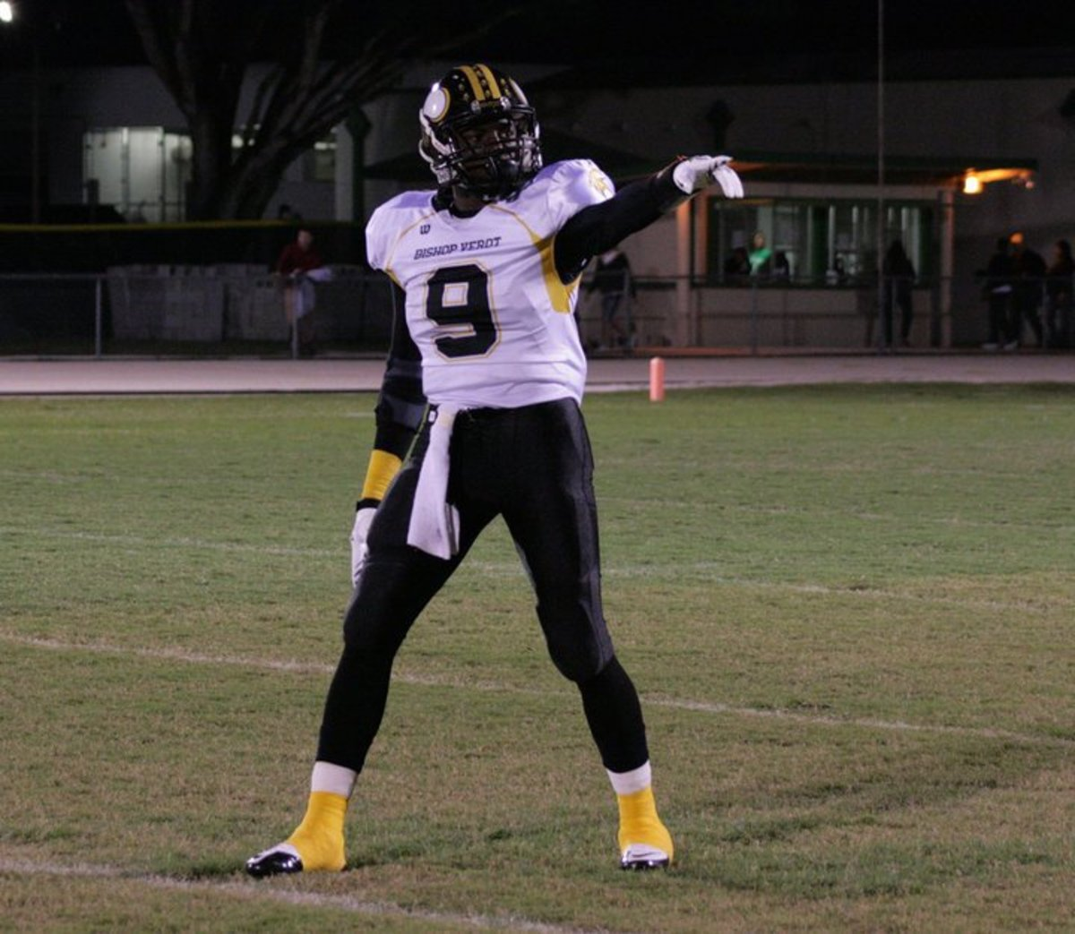 The Brother of Oakland Raiders CB Jeremy Ware, Diggs is one of the most coveted DB prospects in the nation.  Photo courtesy of Diggs.