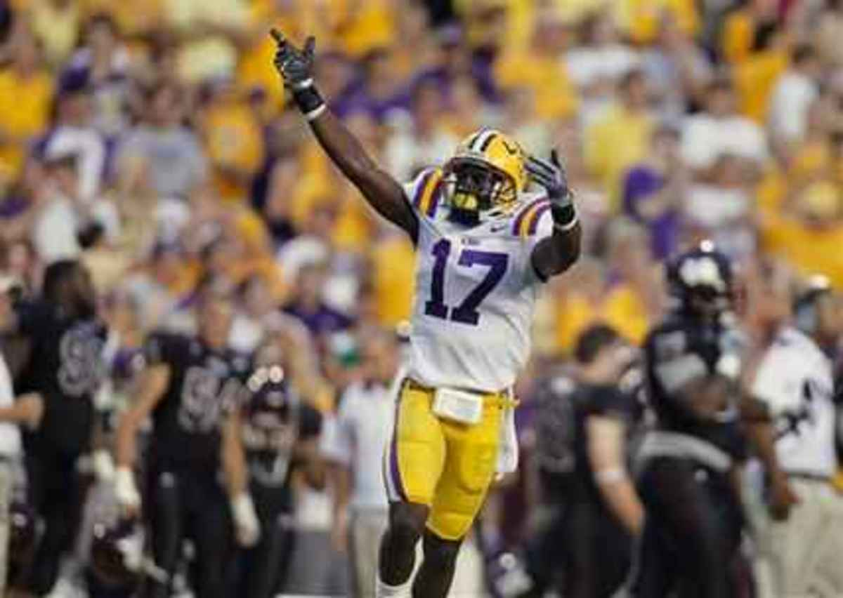 I have monster expectations for the Tigers in 2011.  If they reach them Morris Claiborne the super star CB will jump to the front of the nation's attention.