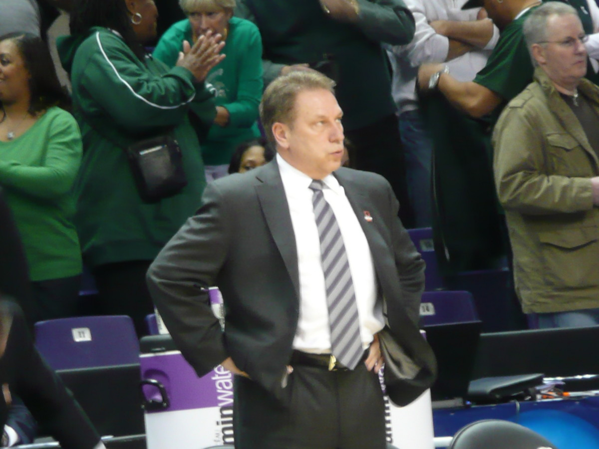 A relieved Izzo could finally exhale after tonight's win.  Photo courtesy of Greg Martin.