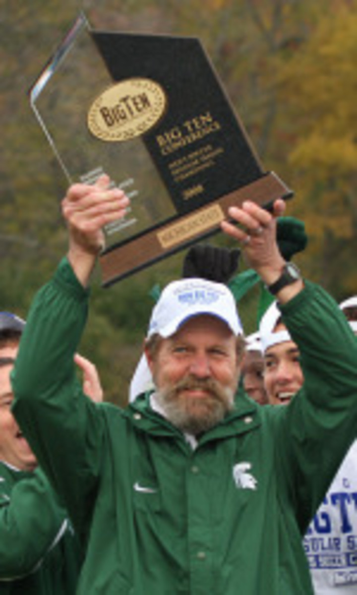 Longtime mentor spent part of six decades as part of Spartan soccer program.  Photo courtesy of MSU SID.