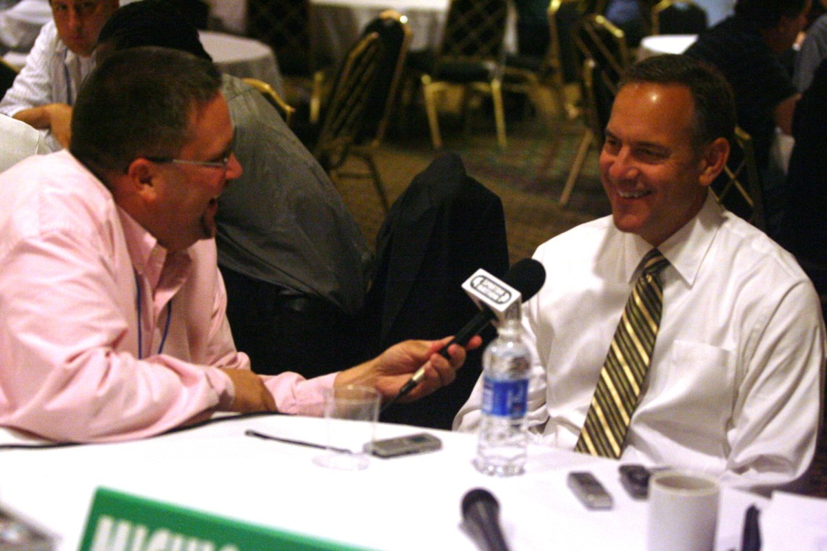 The Spartan Nation Thinks Saturday is the Biggest Game in the head coaching career of Mark Dantonio!  Photo Courtesy of Bill Marklevitzs.