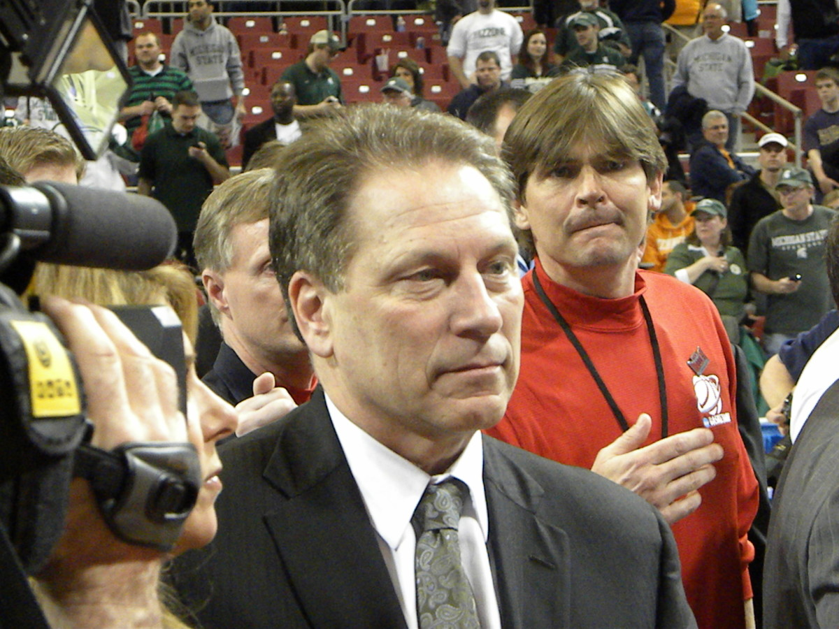 One of Izzo's most frustrating seasons comes to an end tonight in Indianapolis.