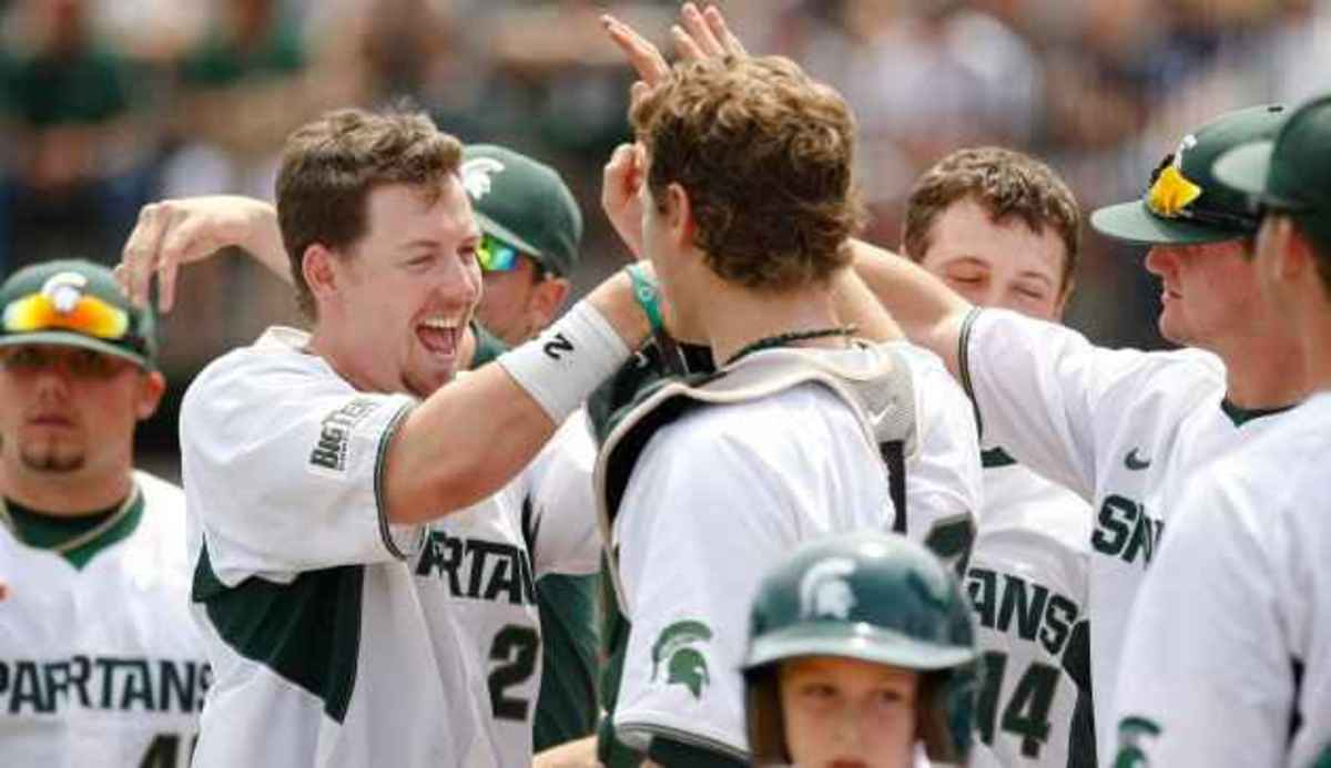 Jeff Holm named Most Valuable Player.  Photo courtesy of MSU SID.