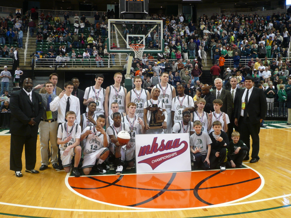 2010 Class D State Champions - Muskegon Western Michigan Christian