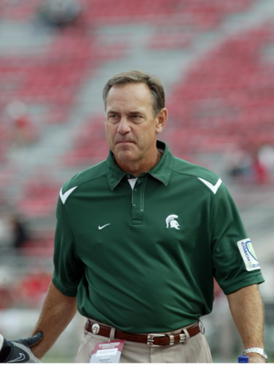 Mark Dantonio is on the march for the 2011 class!  Photo courtesy of Starr Portice.
