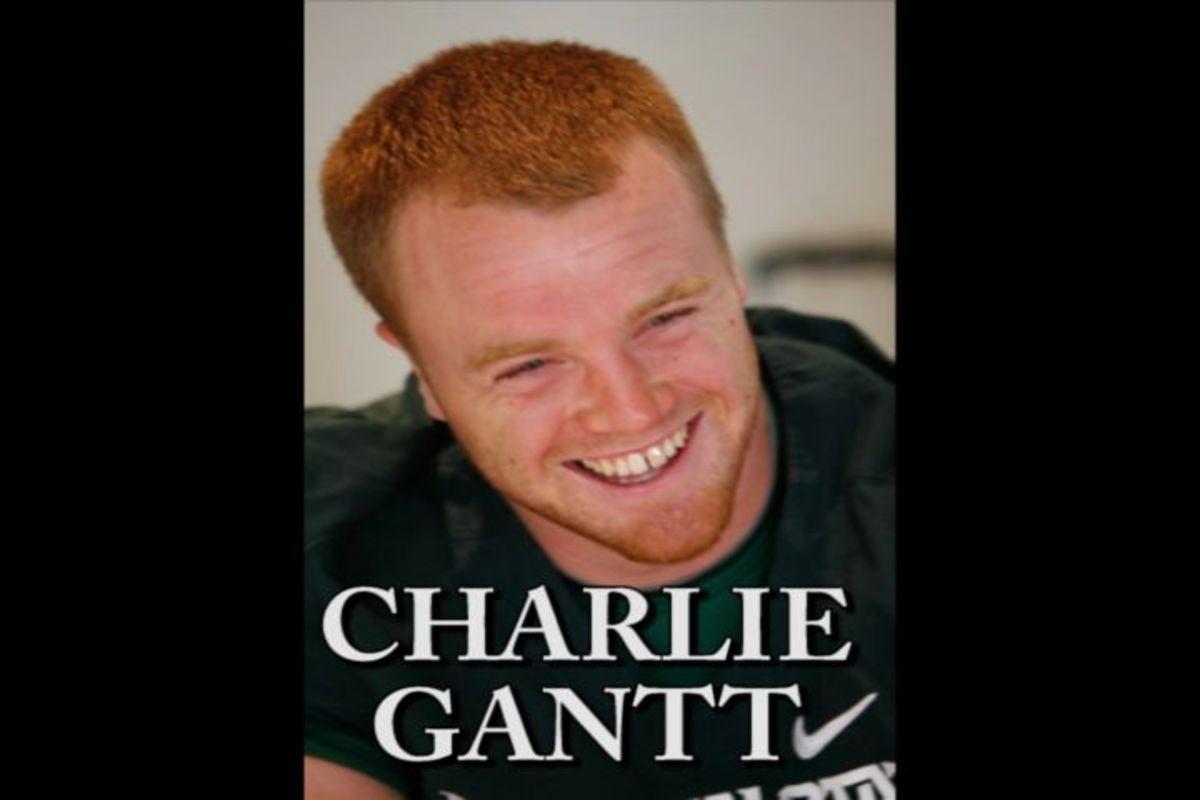 Charlie Gantt the MSU TE is ready for a monster senior season.