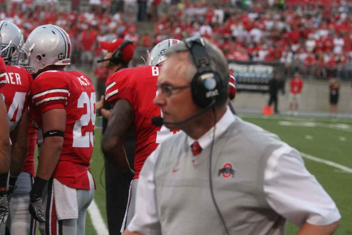 Jim Tressel and the Buckeyes stay at the top of the Spartan Nation top 25 teams.  Photo courtesy of Bill Marklevits.
