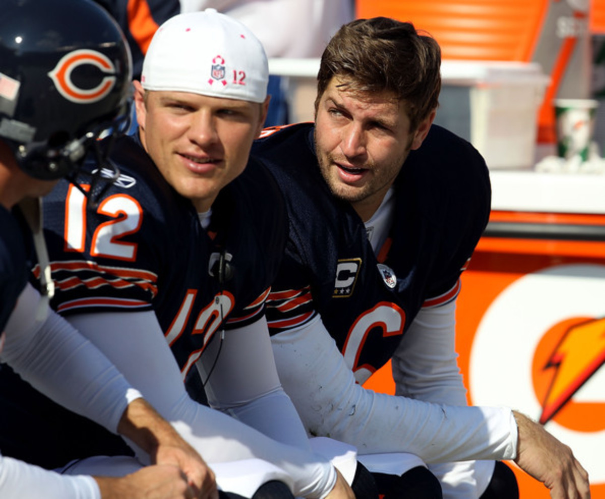 Will Jay Cutler and the rest of the Bears' stars be seeing more of the bench or the field this week?