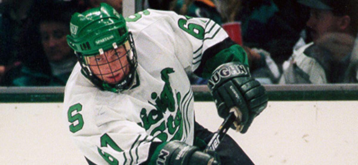 Michigan State All American & NHL Star Mike York Added to Coach Tom Anastos Hockey Staff!  Photo courtesy of MSU SID