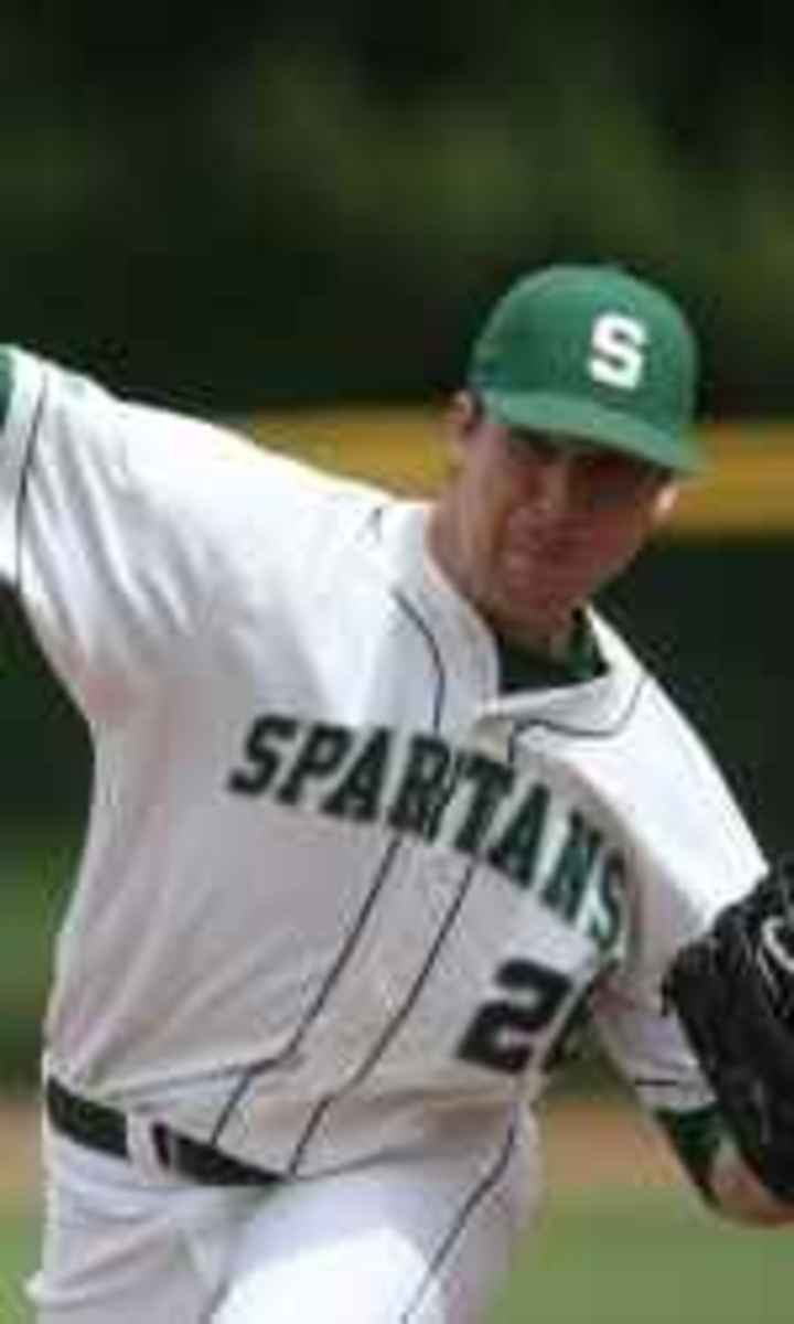 Spartan Baseball is poised for great things under the leadership of Jake Boss who is doing a great job.  Photo courtesy of MSU SID.