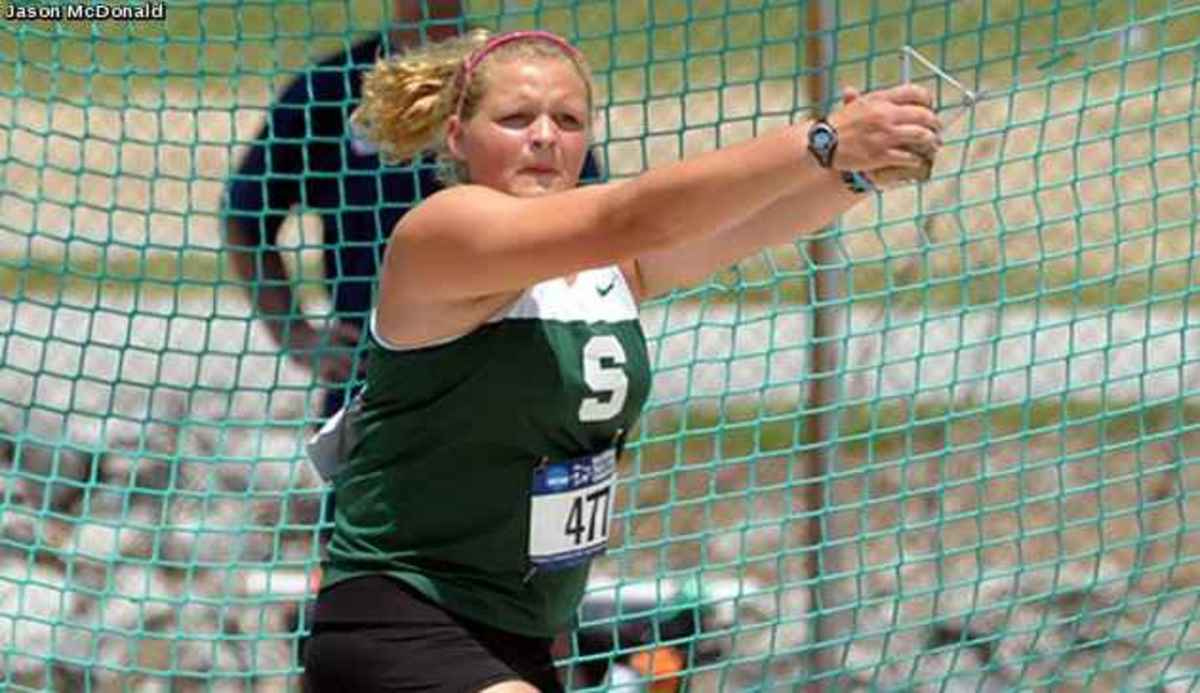 Hill, Pugh and Rohl to represent MSU at NCAA Championships.  Photo courtesy of MSU SID.