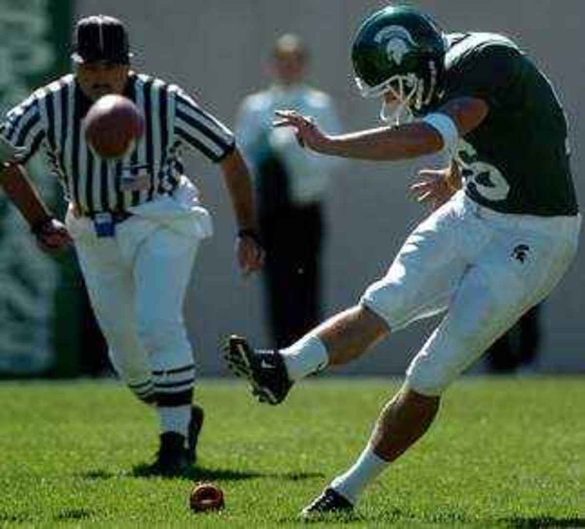 Rayner is a Spartan Nation favorite and it is great to have him back in the mitten state.  Photo courtesy of the MSU SID.