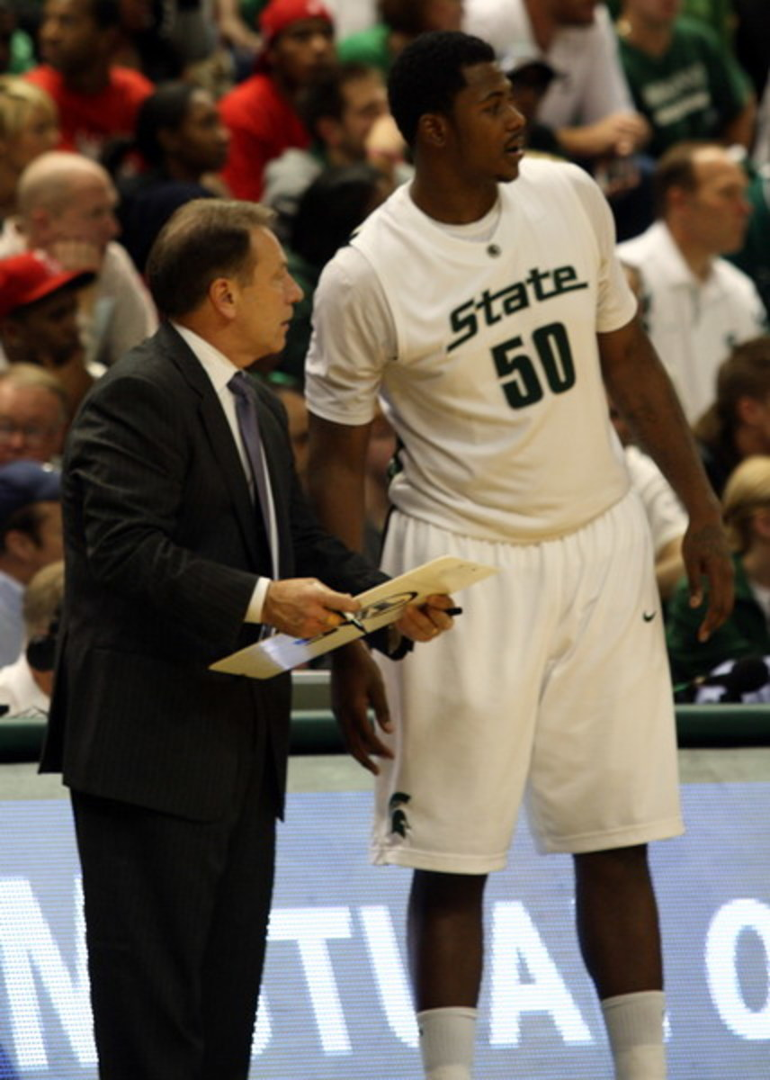 The emergence of Derrick Nix is critical in 2010-11 and all signs are that he is ready.  Photo courtesy of Starr Portice.