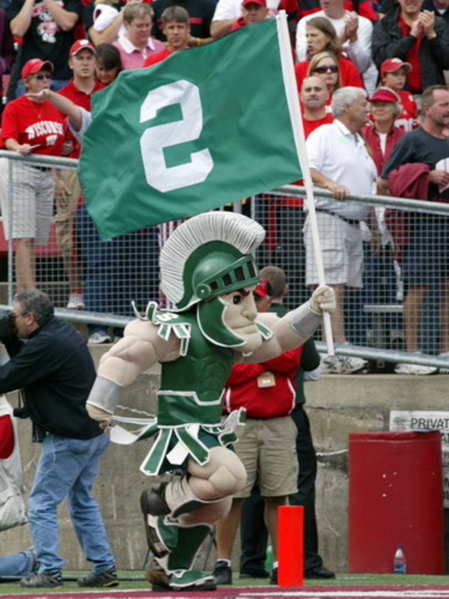 Blair White Keeps Getting National Love for the Spartan Nation!  Photo:  Starr Portice.