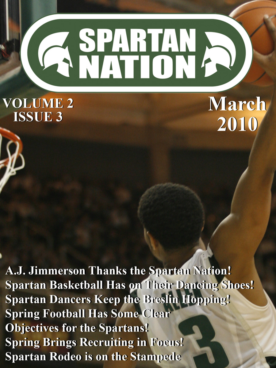 This Thunder/Tomahawk/Side Winder dunk by Chris Allen electrified the Breslin and made the March 2010 cover.  Photo courtesy of Starr Portice.