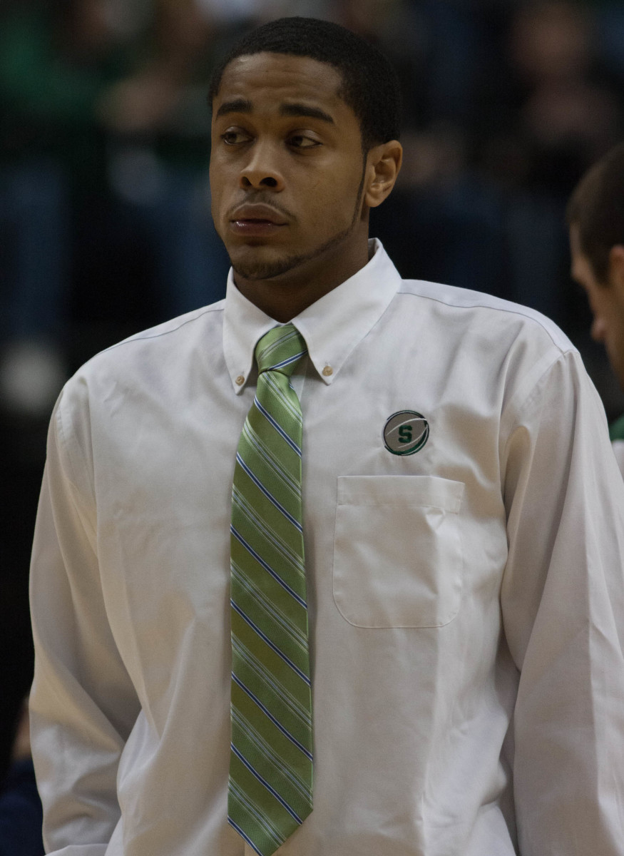 Chris Allen's time with MSU basketball is over.  Photo courtesy of Starr Portice.