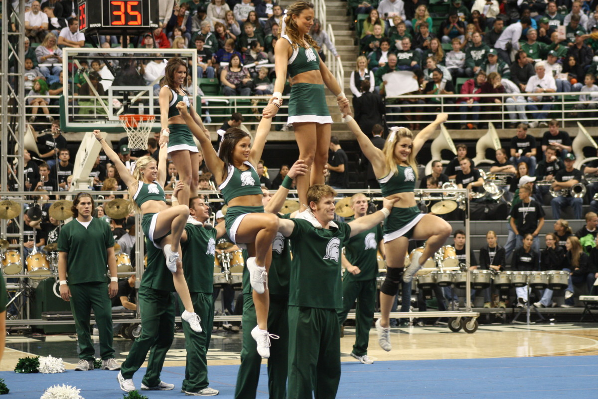 The Spartans will get the W tonight against the Nittany Lions.  Photo courtesy of Mark Boomgaard.