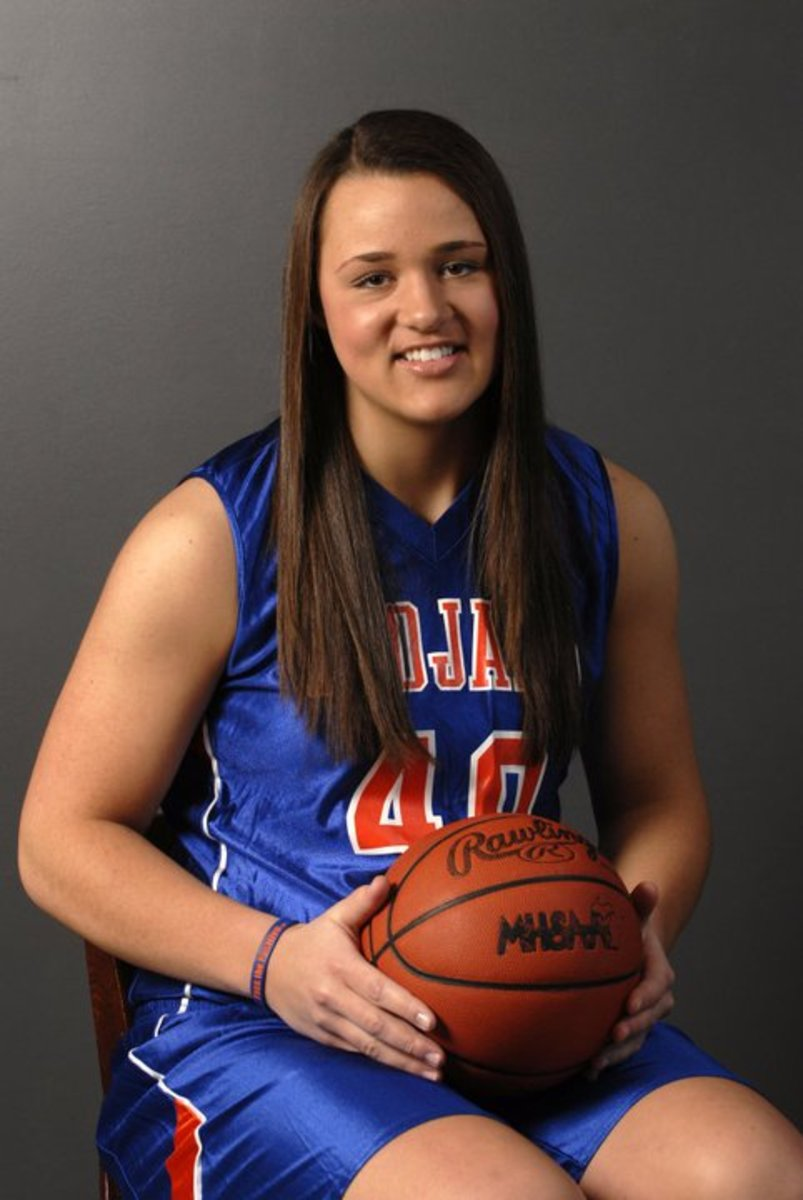 Don't let the innocent smile fool you.  Hines is relentless and tough on the basketball court.  Photo courtesy of Hines.