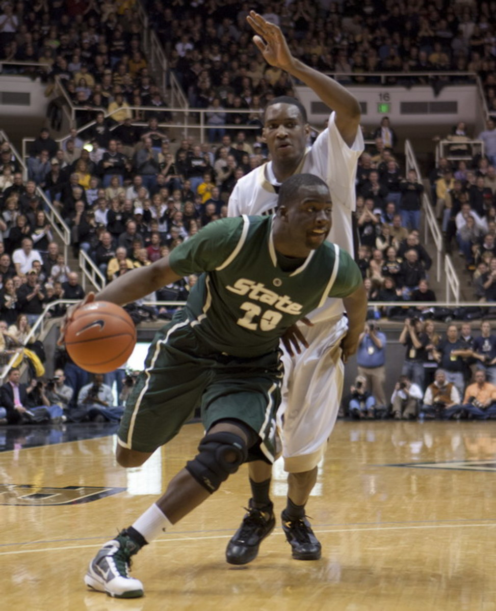 Spartan forward will attempt to make World University Games Team.  Photo courtesy of Starr Portice.