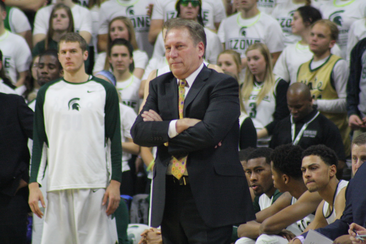 Tom Izzo 2016.  Photo courtesy of Mark Boomgaard.